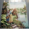 Fashion handmade landscape tapestry