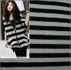 Fashion lady garment printed knitted fabric