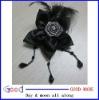 Feather Flower handmade flower corsage