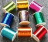 Flat polyester metallic Yarn