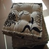 Flocked  Jacquard seat  cushion
