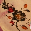 Flocking embroidery fabric