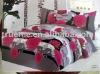 Flower Cotton Printed 5pcs bedding set