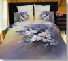 Flower Photo printed Bed sheet/Bedding sheet