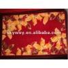 Flower print nylon carpet