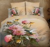 Fresh&Elegant Style!100%Combed Cotton Reactive Printed Bedding Set