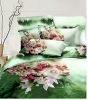 Fresh Style!100%Combed Cotton Reactive Printed Bedding Set