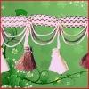 Fringe tassel for curtain