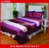 GOOD textury soft and colorful queen comforter set