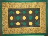 GREEN+YELLOW TABLE CLOTH 14#