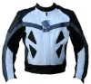 Genuine Leather Motorbike Jacket,leather motorcycle jacket,racing jacket,leather jacket