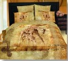 Giraffe!100%Combed Cotton Reactive Printed Bedding Set