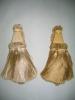 Golden curtain tassel