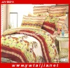 Good Texture Brushed Fabric Colourful Flat Bed Sheets