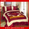 Good Texture Embroidered Imitation Silk Bedding