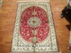 Grade-C Hand Knotted Persian Silk Carpet