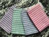 Grid cloth tea towel