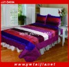 HIGH quality embossing and soft bed comforter set