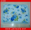 HIGH quality printing and lace patchwork pillow case