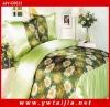 HOT Selling Emulational Silk Bed Quilt Duvet Cover Sets