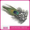 HOT fantastic peacock feather headband