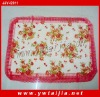 HOT selling printed and lace valentine's pillow