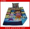 HOT selling washable cartoon children bedding