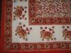 Hand Block Natural Vegetable Color Bedspread/Quilts