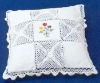 Hand Crocheted Lace Cushioncover