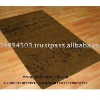 Hand Knotted Brown Modern Silk Rugs