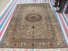 Hand Knotted Persian Area Silk Rugs