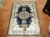 Hand Knotted Persian Pure Silk Carpets