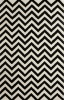 Hand-Tufted Wool Zig-Zag rug