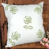 Hand embroidery linen Cushion Cover