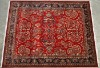 Handknotted persian carpet
