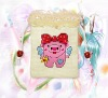 Handmade   Pink  Pig Card Sets cross-stitch93075