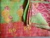 Handmade Vintage Cotton Kantha Quilts--Reversible