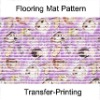 Heat-Transfer printed PVC Floor mat,Floor carpet