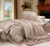 High Luxury Lace Jacquard bedding set/bed Cover/bed sheet