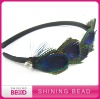 High Quality Newest Style Peacock Feather Headband
