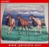 High Quality Soft And Colorful Cow Fleece Blanket