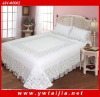 High quality 100%cotton patchwork in border and reactive dye printing 3pcs bedding set