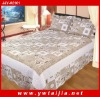 High quality 100% cotton printed bed cover set