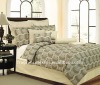 Home Use T180 100% Polyester 4pcs Comforter Set
