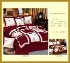 Hot Sale 100% Polyester Filled Taffeta Quilt Set