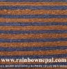 Hot Sale Hand Knotted Flat Weave Striped Rug