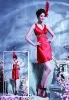 Hot Sale High Quality V-neck Chiffon  Evening Dress