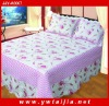 Hot Sale Printed And Soft Cotton Bed Cover Set