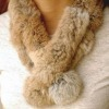 Hot-Sell Rex Rabbit Fur Scarf
