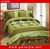 Hot Selling Beautiful Embroidered Imitation Silk Quilt